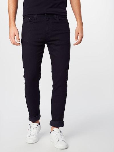 LEVI'S Jeans '512 SLIM' in black denim, Modelansicht