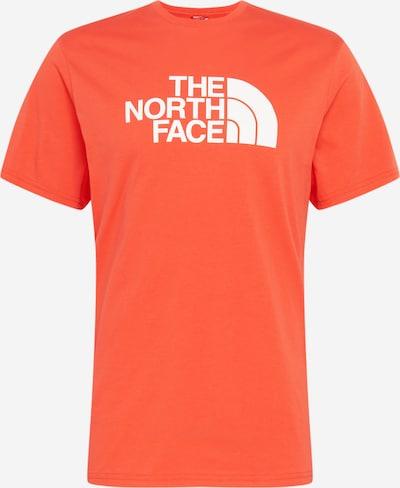 THE NORTH FACE Shirt in orange / weiß, Produktansicht