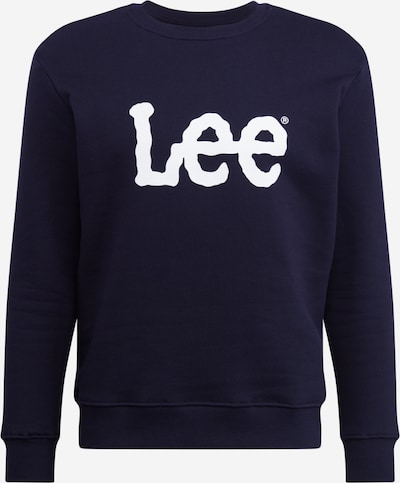 Lee Sweatshirt in navy / weiß, Produktansicht