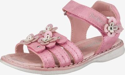 Be Mega Sandalen in pink / silber, Produktansicht