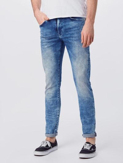Petrol Industries Jeans i blå denim, På modell