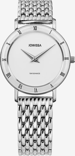JOWISSA Quarzuhr 'Roma' Swiss Ladies Watch in silber / weiß, Produktansicht