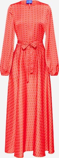Crās Maxikleid in rot, Produktansicht