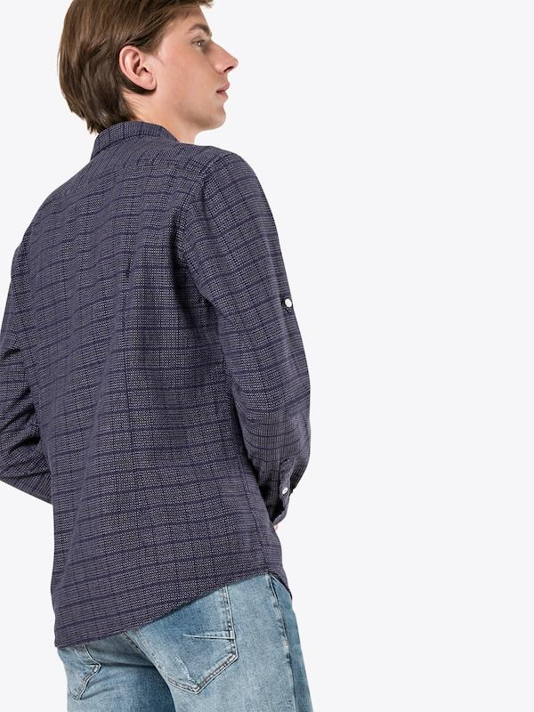 En BleuBaie Tailor Dobby Tom Chemise 'colored Denim Shirt' 8nOP0wk