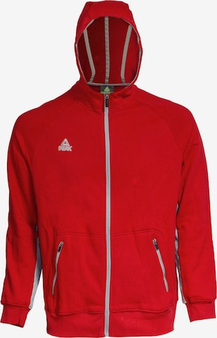 PEAK Sweatjacke in Rot