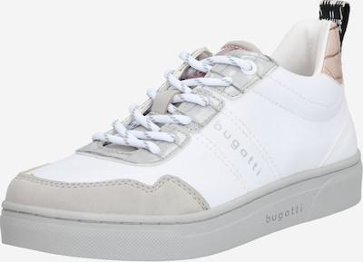 bugatti Baskets basses en beige / blanc, Vue avec produit