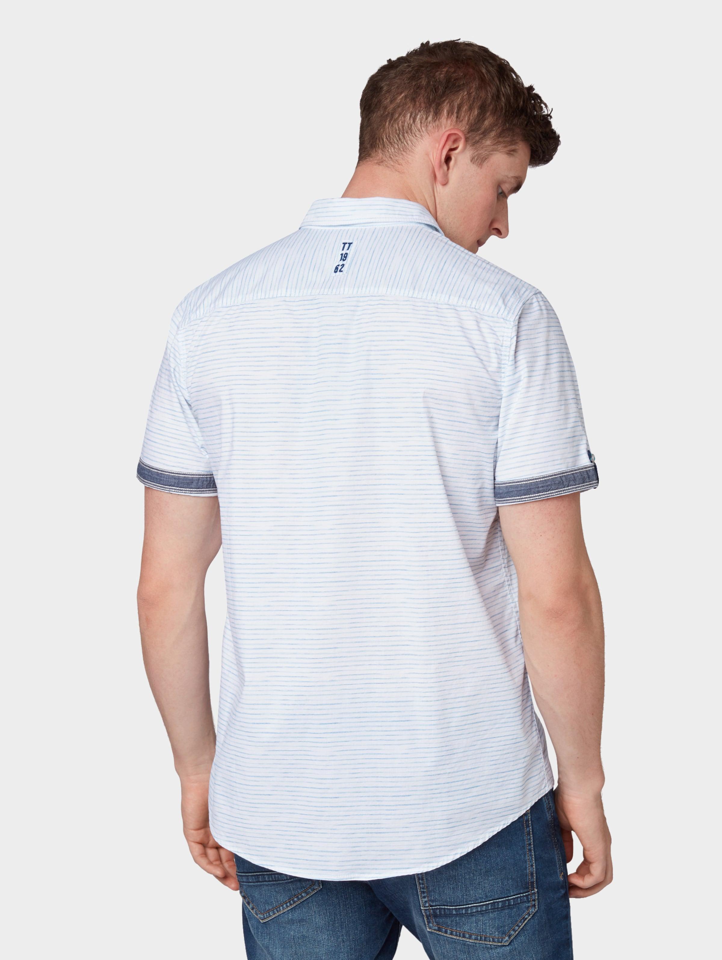 TaubenblauHellblau Weiß Tailor Hemd Tom In TFJ1Klc