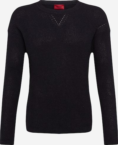 HUGO Sweter 'Silan' w kolorze czarnym, Podgląd produktu