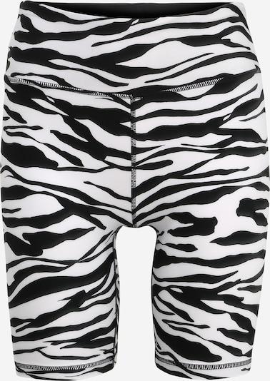 DKNY Sport Sportovní kalhoty 'ZEBRA' - černá / bílá, Produkt