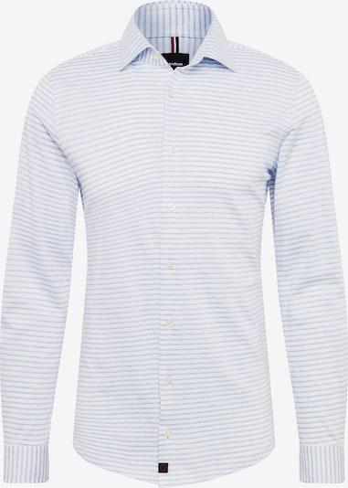 STRELLSON Overhemd '11 Carson-J' in de kleur Lichtblauw / Wit, Productweergave