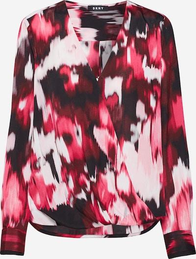 DKNY Chemisier en mélange de couleurs / rose, Vue avec produit