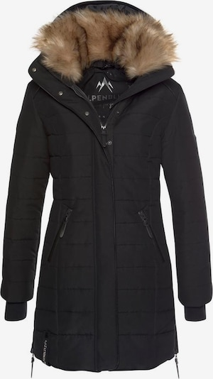 ALPENBLITZ Winterjacke 'Bern' in schwarz, Produktansicht