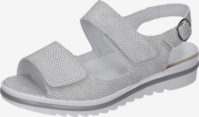 WALDLÄUFER Sandalen in weiß, Produktansicht