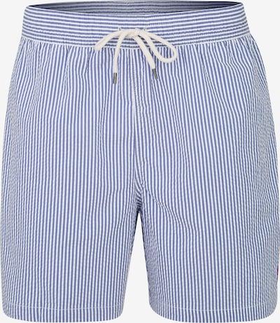 POLO RALPH LAUREN Kratke kopalne hlače 'TRAVELER-SWIM'   modra / bela barva, Prikaz izdelka
