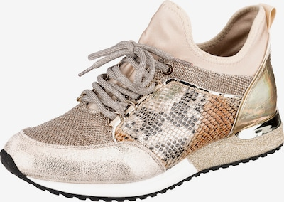 LA STRADA Sneaker in beige / gold, Produktansicht
