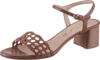 UNISA Sandalette 'Gita' in braun, Produktansicht