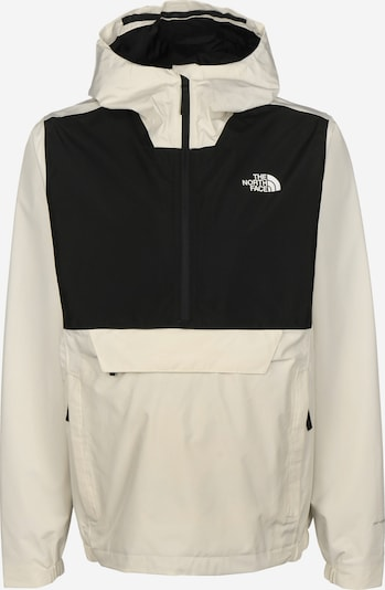 THE NORTH FACE Regenjacke 'Fanorak' in schwarz / weiß, Produktansicht
