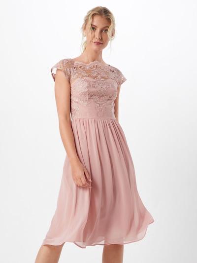 Rochie de cocktail 'Karlie' Chi Chi London pe roze: Privire frontală