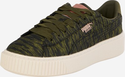 PUMA Sneaker 'Basket Platform' in oliv, Produktansicht