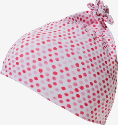 STERNTALER Beanie in rosa / rot / weiß, Produktansicht
