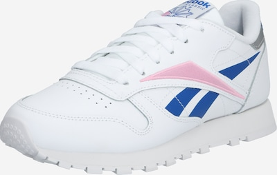 Reebok Classic Sneaker in blau / rosa / weiß, Produktansicht