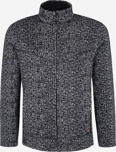 MAMMUT Funktionele fleece-jas 'Chamuera' in de kleur Zwart / Wit, Productweergave