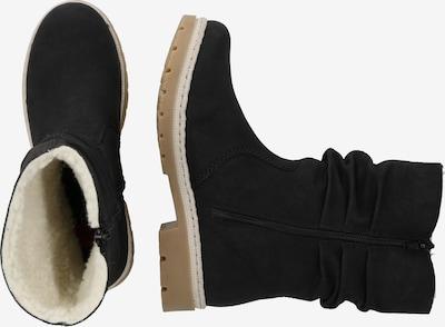 RIEKER Sniega apavi pieejami melns: Sānskats