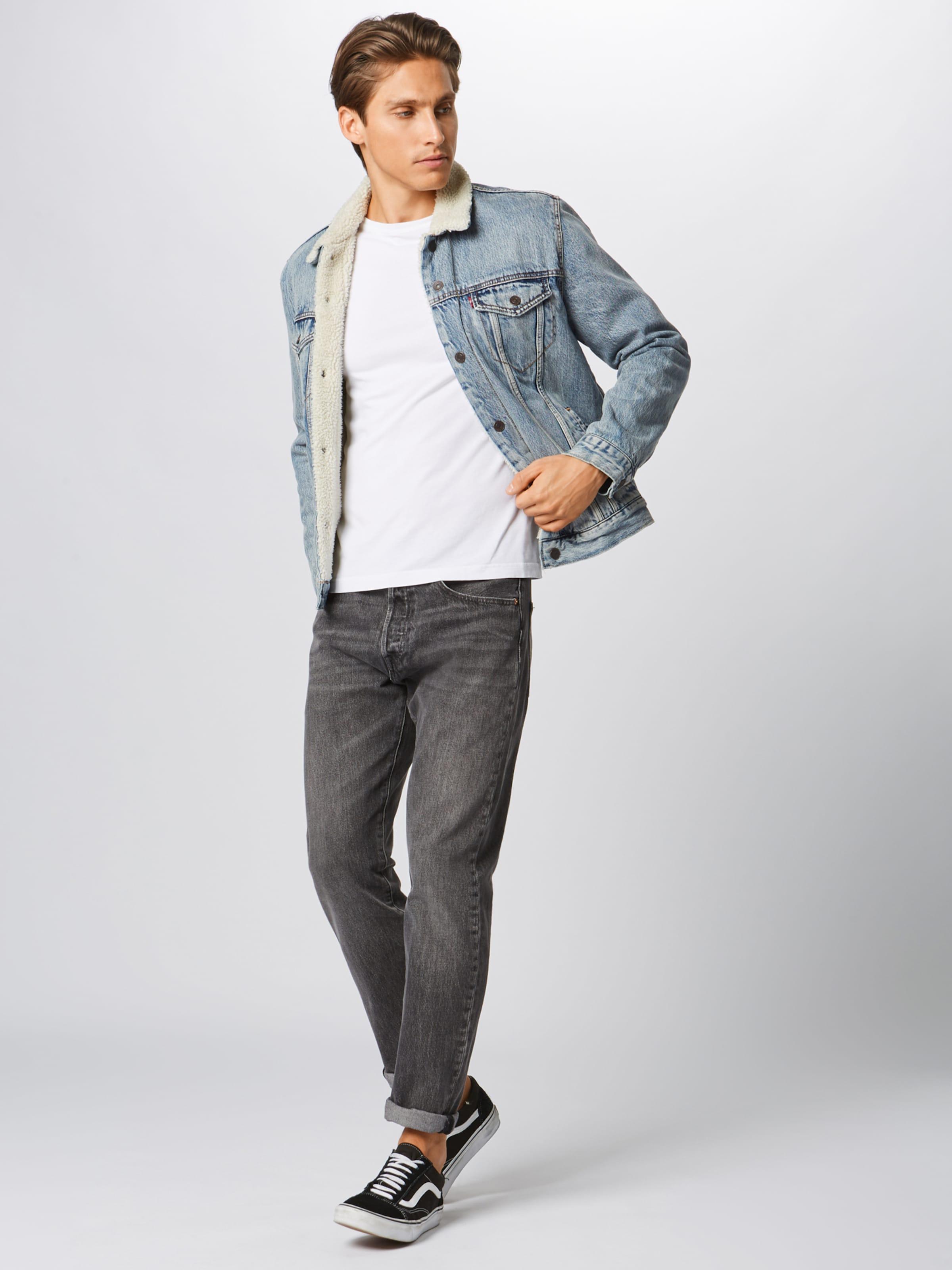 Levi's '501slimtaper' Denim Jeans In Grey Rc34Lqj5AS