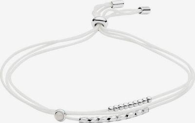 FOSSIL Armband »STERLING SILVER« in silber / weiß, Produktansicht