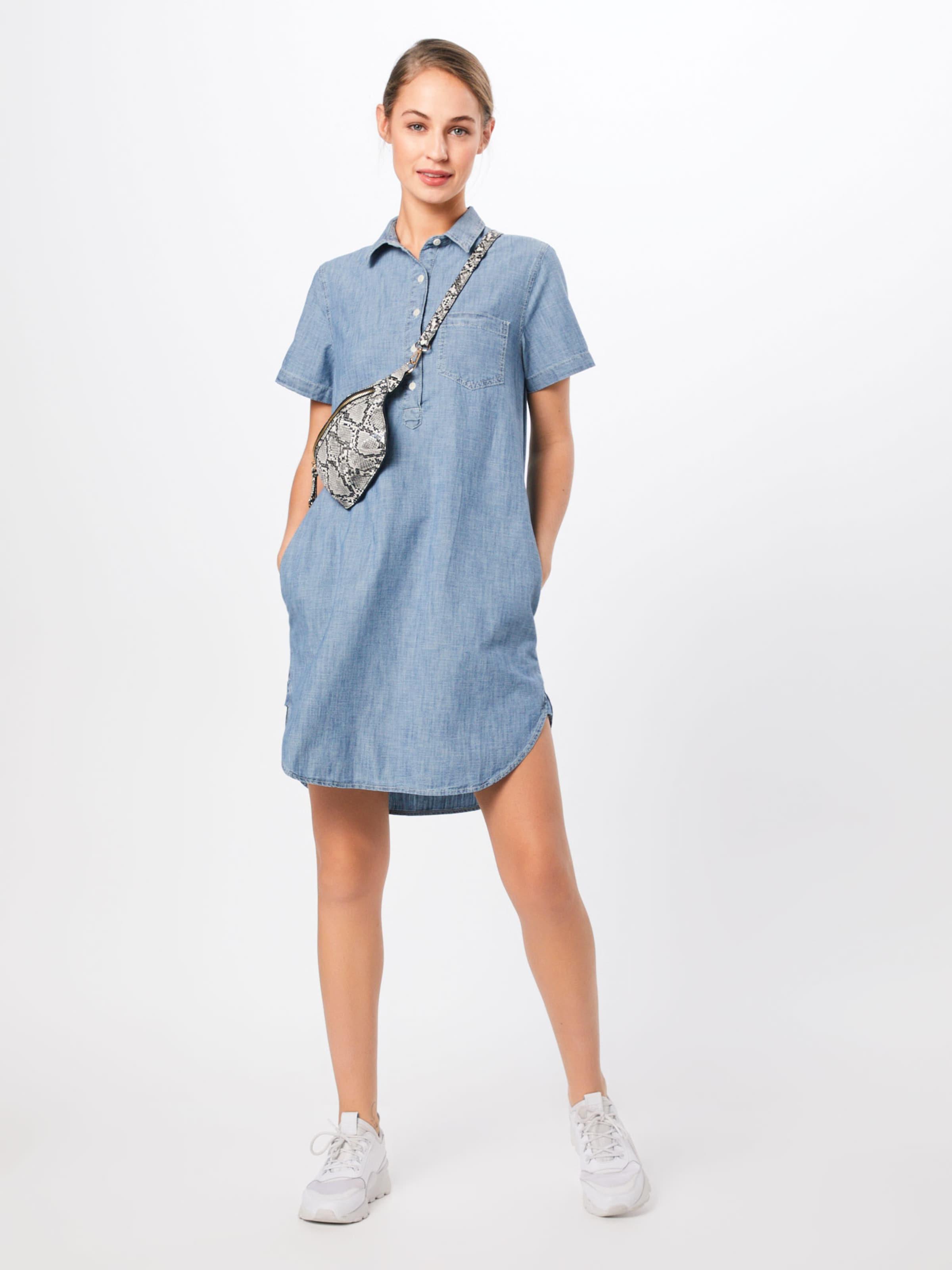 Kleid 'popover Denim' In Gap Indigo drCexBoW