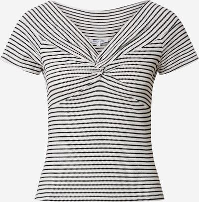 ABOUT YOU Shirt 'Lilyana' in schwarz / weiß, Produktansicht