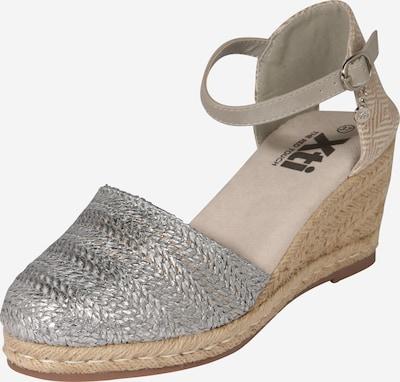 Xti Sandale in silber, Produktansicht
