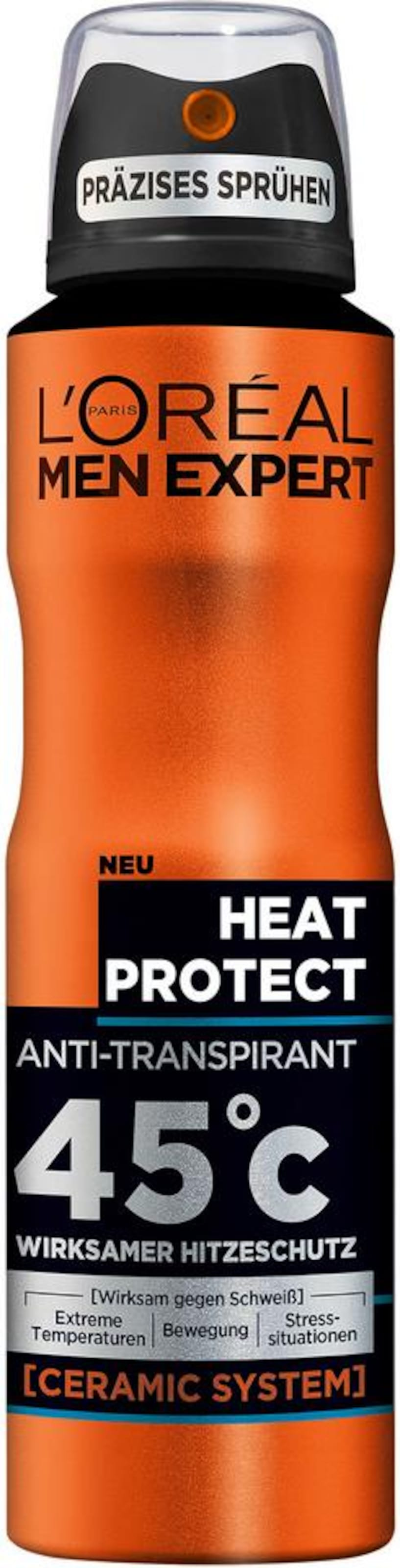 OrangeSchwarz 'heat In Paris Expert spray L'oréal Men Protect'Deo lKTJF1c