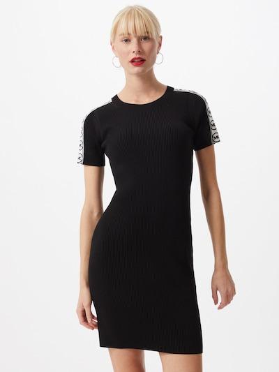 MICHAEL Michael Kors Kleid 'CIRCLE' in schwarz / weiß, Modelansicht