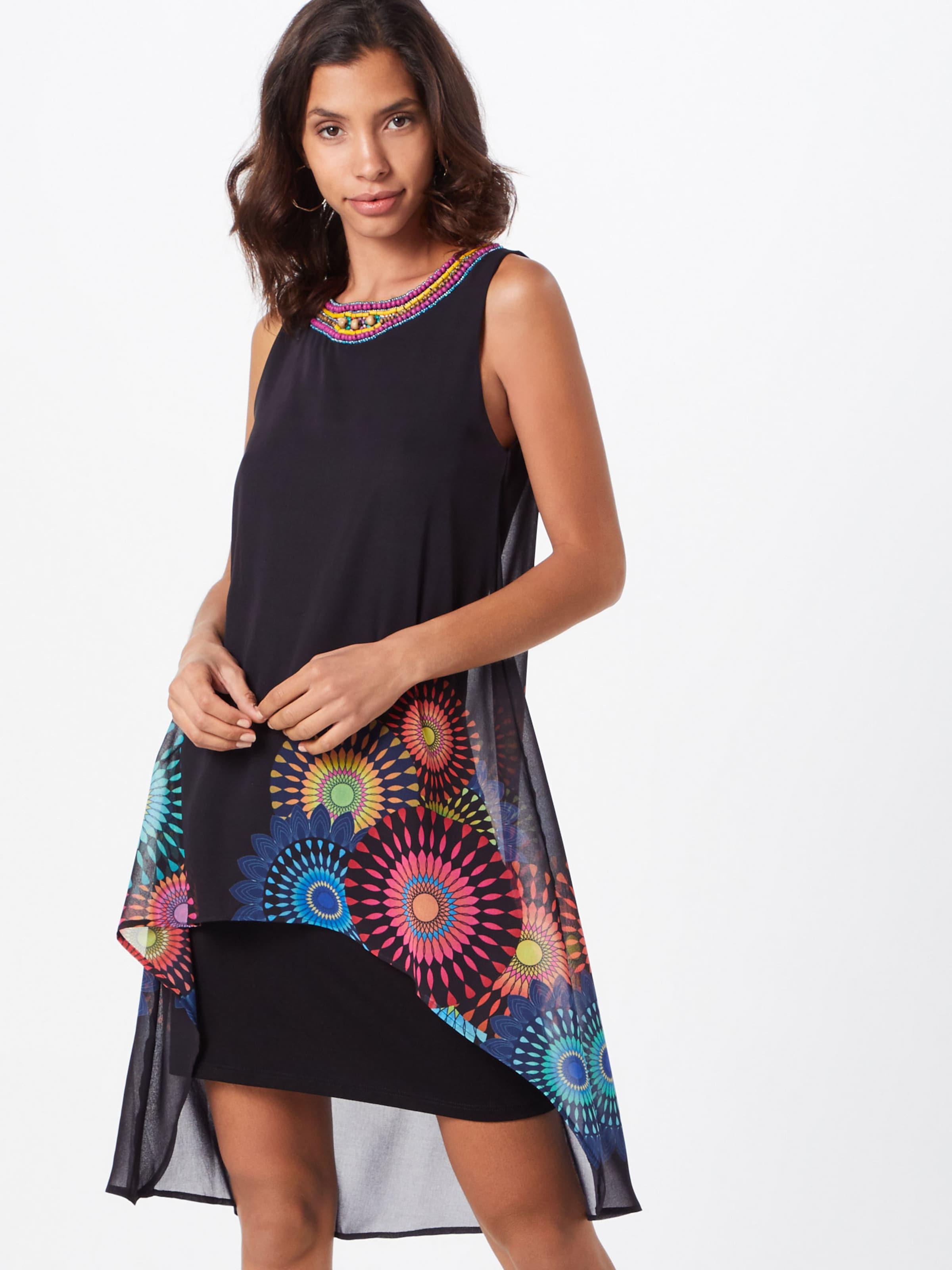 new design detailed images cheap for discount vest Kleid portia' In Desigual MischfarbenSchwarz QdCrxoeBW