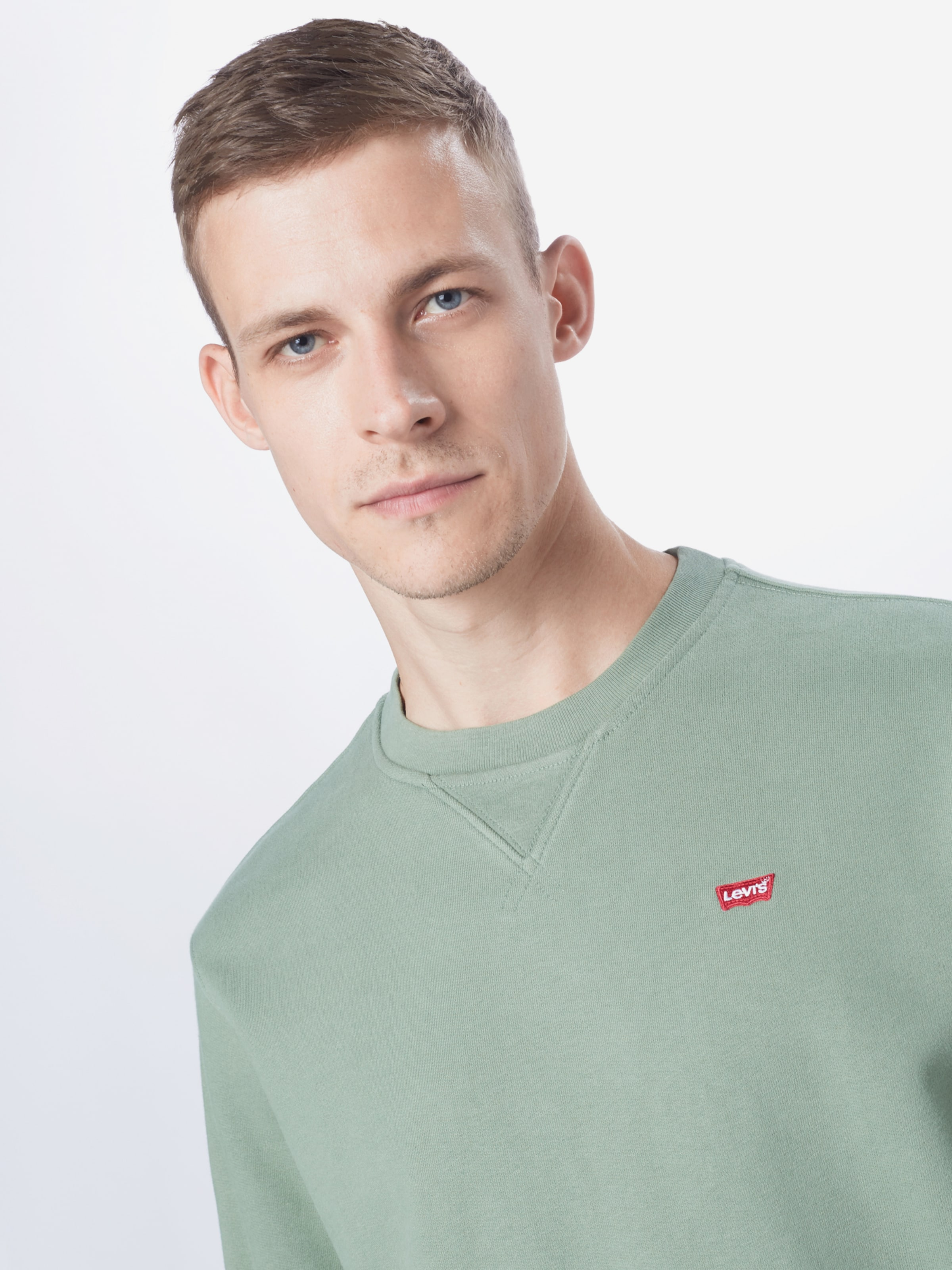 LEVI'S Sweatshirt i pastellgrön