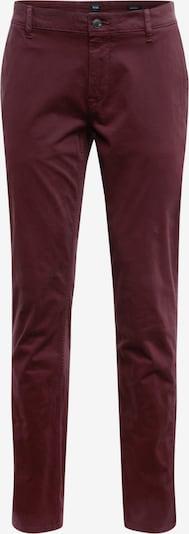 BOSS Pantalon chino en rouge, Vue avec produit