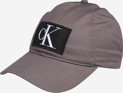 Calvin Klein Jeans Cap in grau / dunkelgrau / weiß, Produktansicht