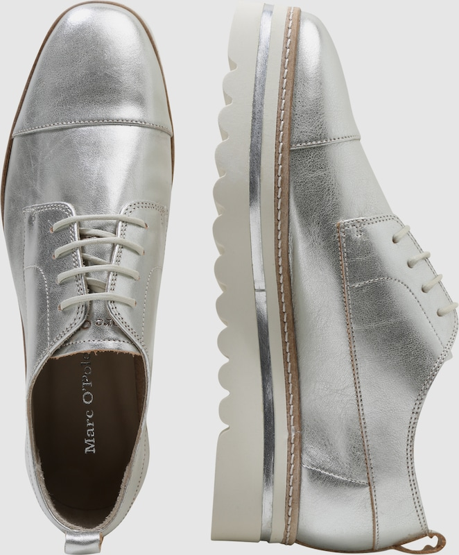 Marc O'Polo Sneaker mit Metallic-Finish