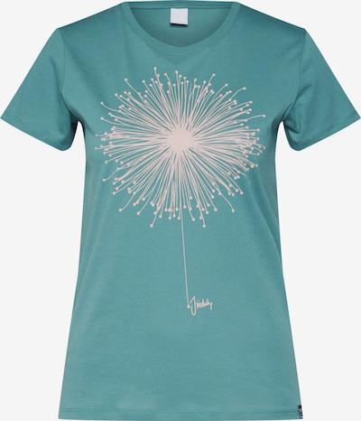 Iriedaily T-Shirt 'Blowball' in grün / weiß, Produktansicht