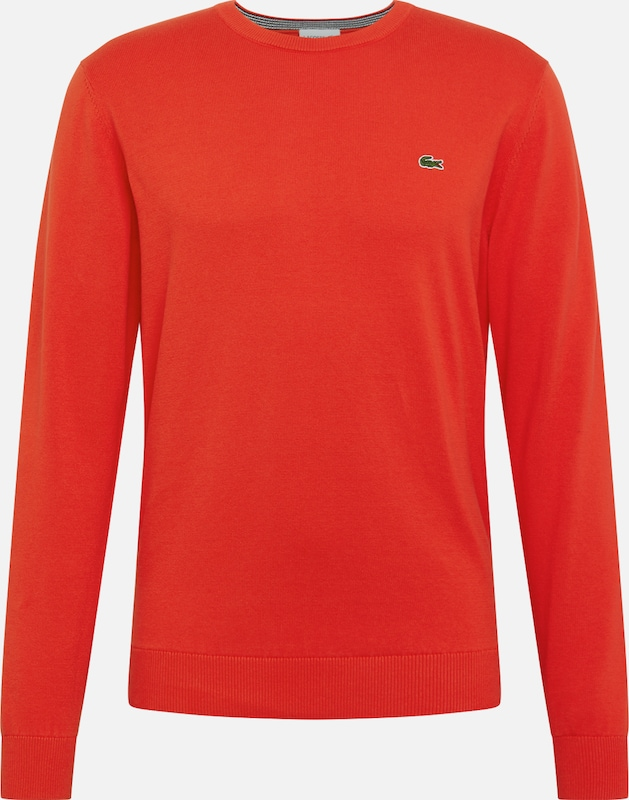 LACOSTE Pullover in marine / rot, Produktansicht