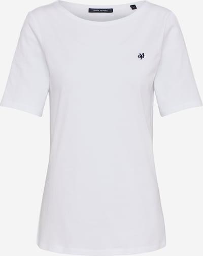 Marc O'Polo T-shirt en blanc, Vue avec produit
