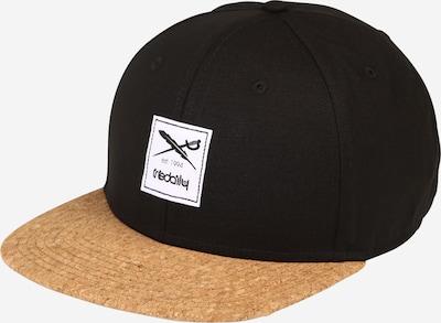Iriedaily Cap 'Exclusive Cork' in hellbraun / schwarz, Produktansicht