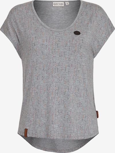 naketano Shirt 'Fields Of Athenry' in graumeliert, Produktansicht