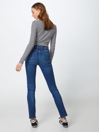 Pepe Jeans Jeans 'Victoria' in blue denim: Rückansicht