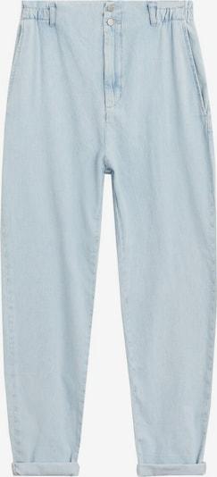 MANGO Pantalon à pince en bleu ciel, Vue avec produit