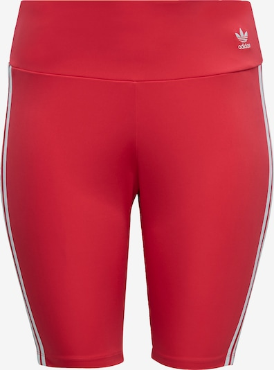 ADIDAS ORIGINALS Leggings in de kleur Vuurrood / Wit, Productweergave