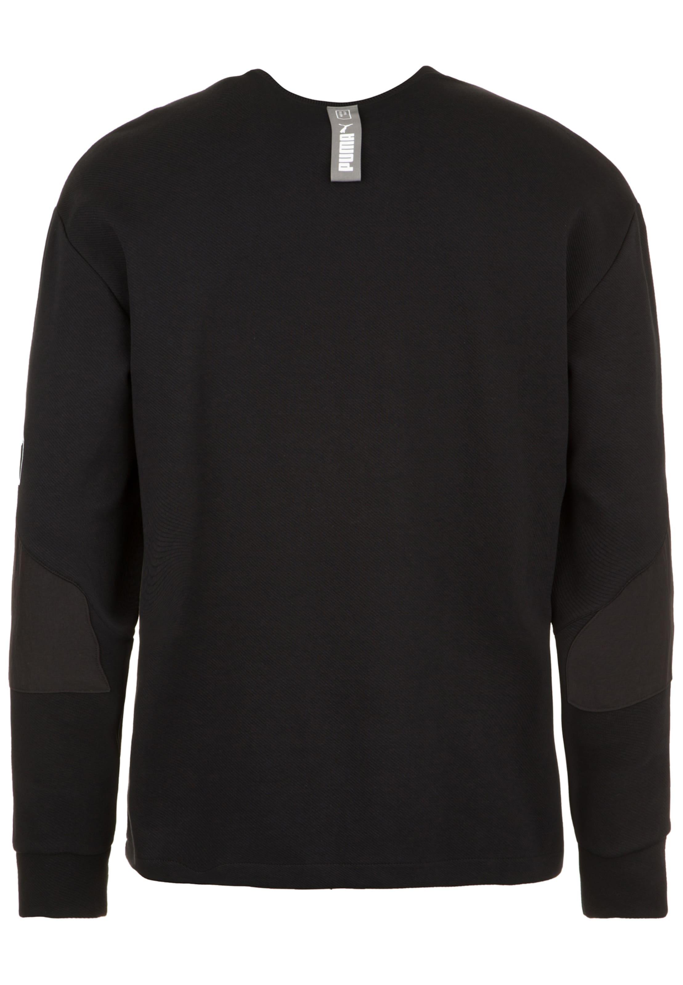 Sweatshirt In tility' SchwarzWeiß 'nu Puma l1uTFK35cJ