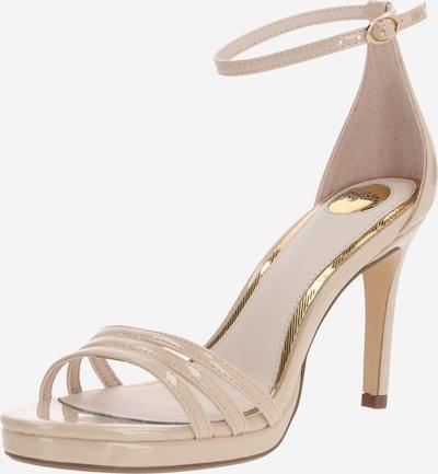 BUFFALO Sandale 'Melissa' in beige, Produktansicht