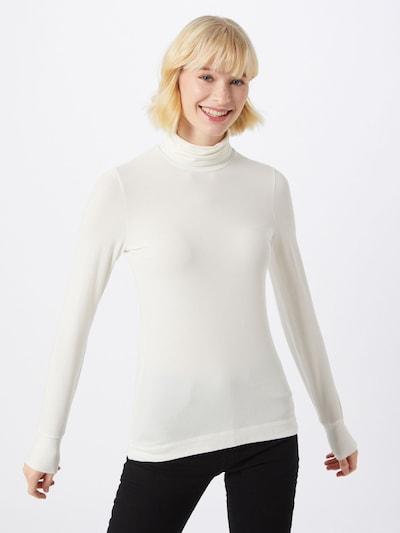 InWear Koszulka 'FondaIW Rollneck LS' w kolorze białym, Podgląd na modelu(-ce)